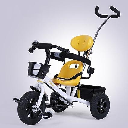 DACHUI Carrito de bebé, niño, niños inflables bicicleta triciclo, bicicleta, carro del