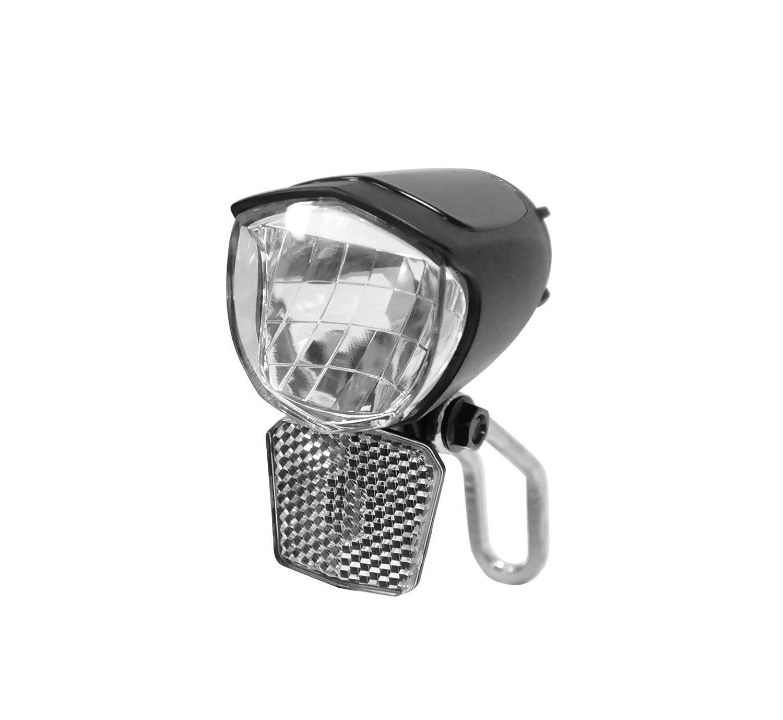 IPX5 USB LED Fahrradlampe Nabendynamo Fahrrad LED Scheinwerfer Kopflampe Licht