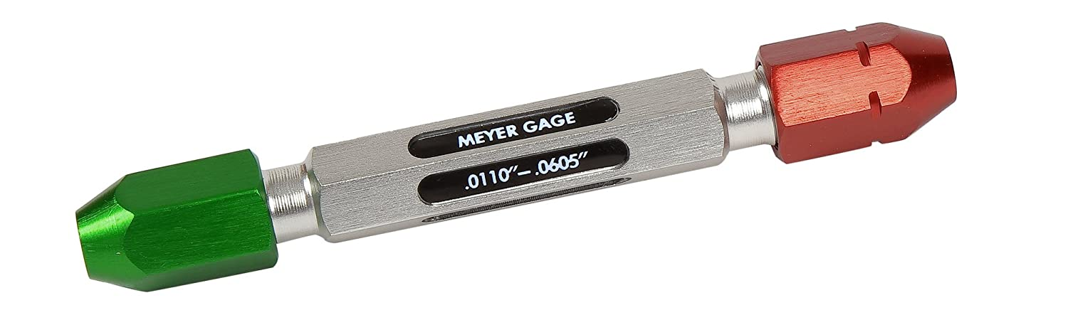 Meyer Gage 1PGHDE Universal Pin Gage Handle Covers Range 0.0110-0.0605 or 0.28 mm-1.51 mm