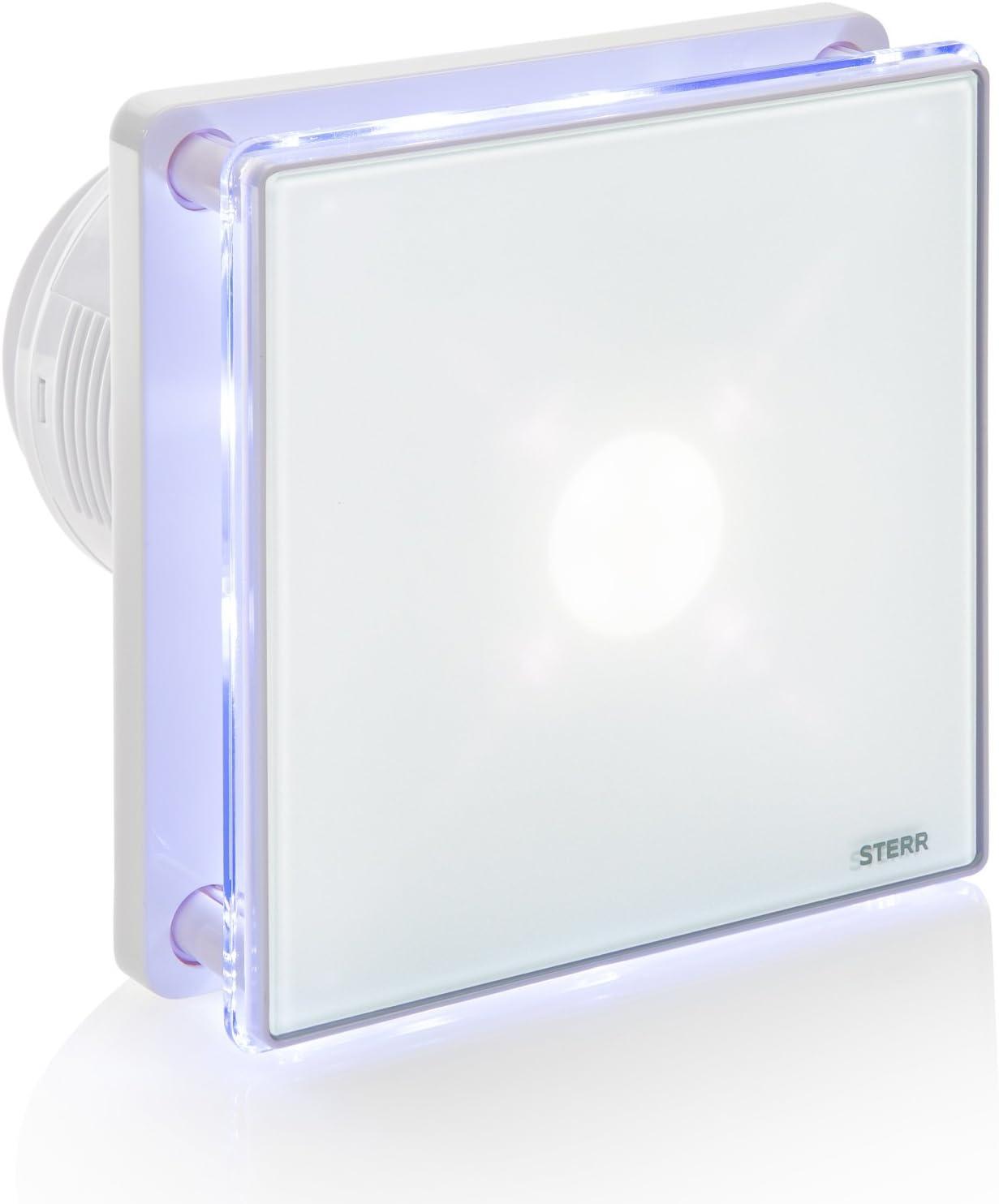 STERR - Extractor de baño con retroiluminación LED - BFS100L