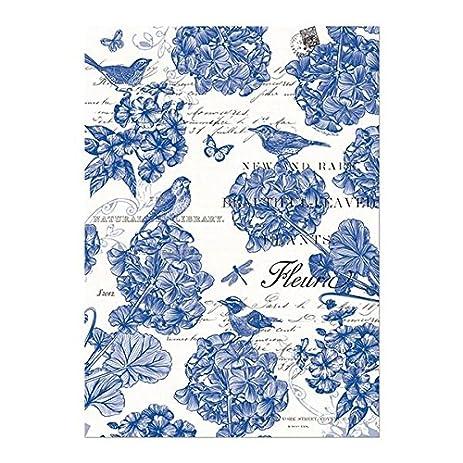Perfect Michel Design Works Kitchen Dish Towel, Indigo Cotton Part 29