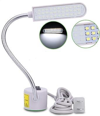 Tohoer - Lámpara LED para máquina de coser (33 LED), 6 W ...