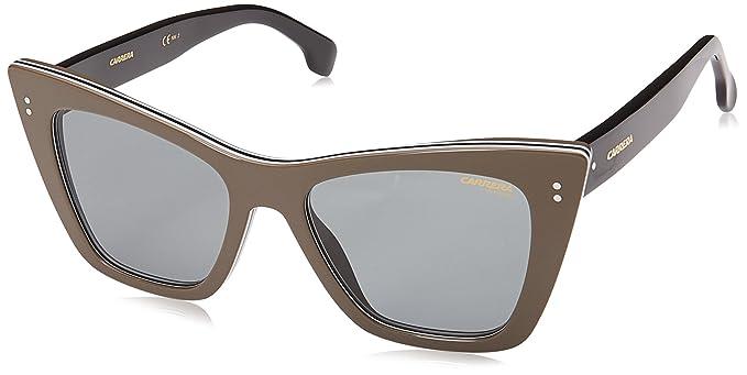 285fe38f54 Carrera 1009/S QT 10A 52 Gafas de sol, Beige/Gn Green, Mujer: Amazon ...