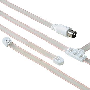 Hama 75122482 1.5m Coaxial - Cable coaxial (Coaxial, Derecho, 1,5