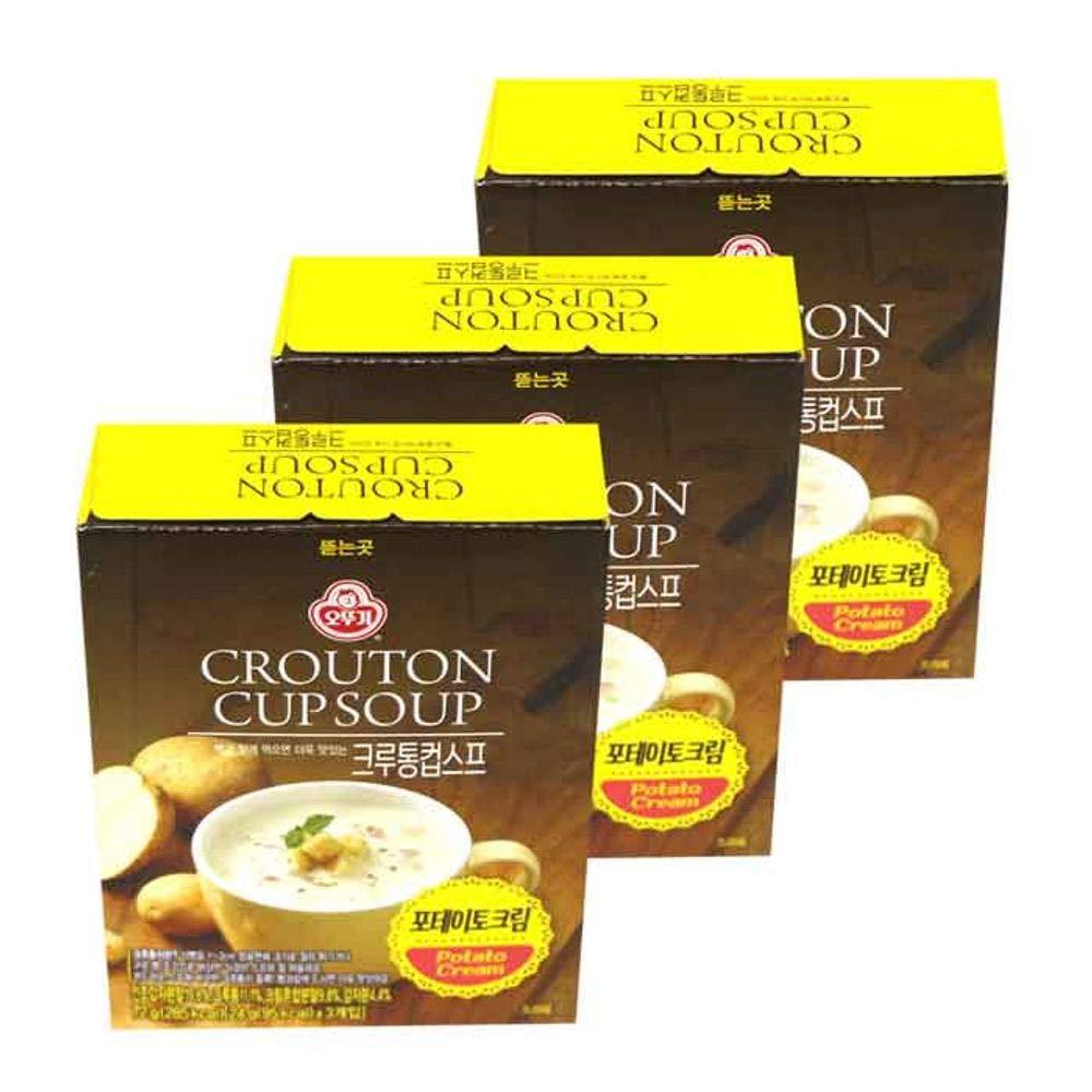 Ottogi Crouton Cup Soup Potato Cream 72g x 3