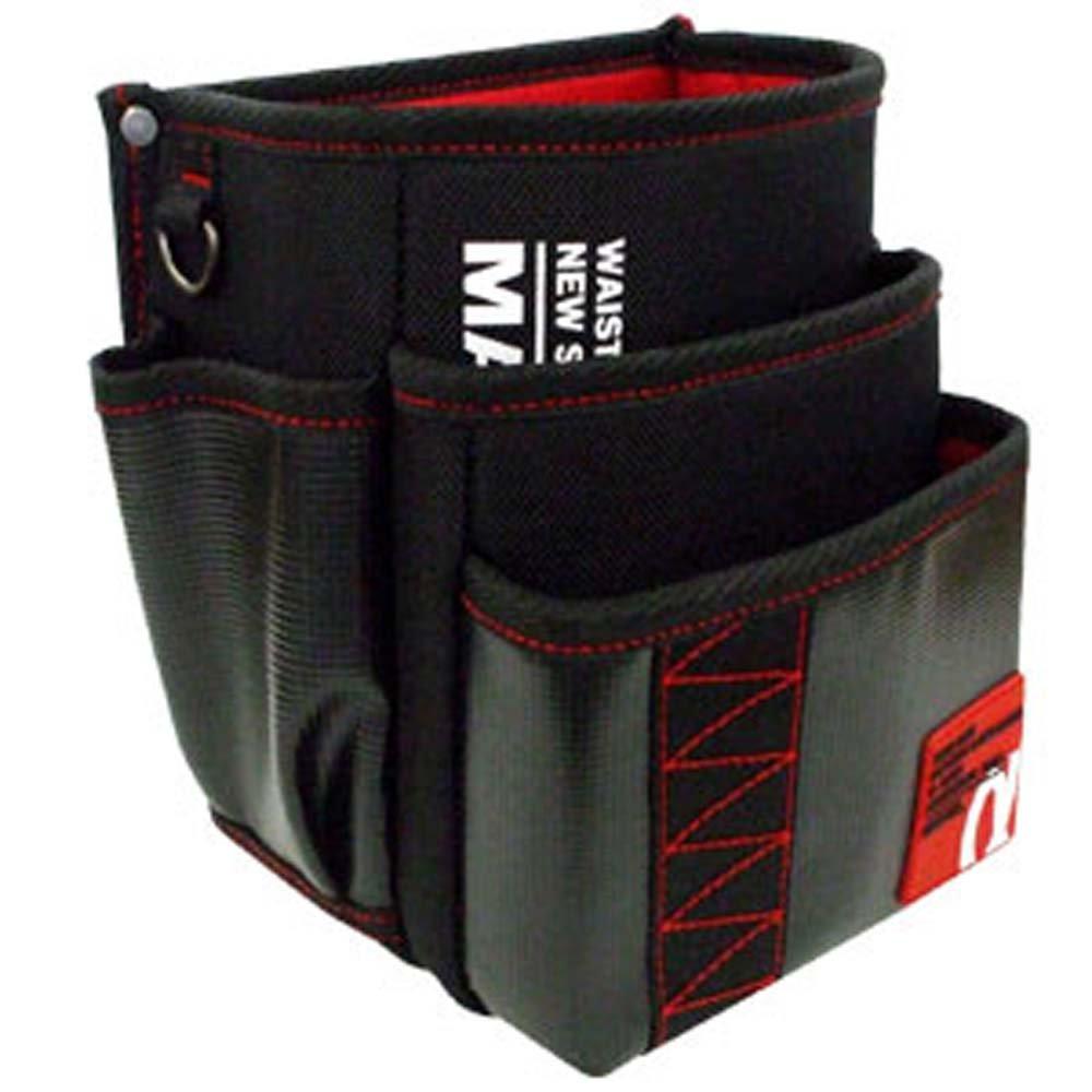 マーベル(MARVEL) WAIST GEAR 腰袋三段タイプ レッド MDP-93AR