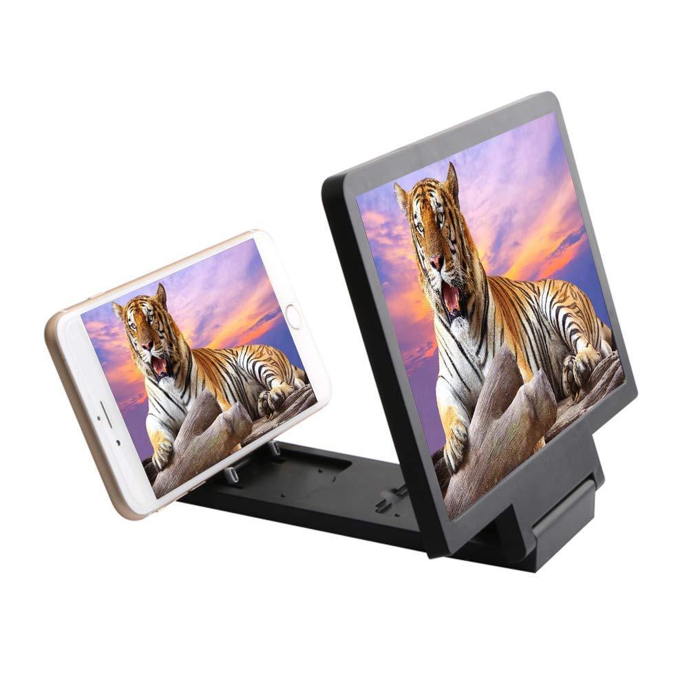 dxx Amplificador de pantalla del tel/éfono celular de 8,2 pulgadas 3D HD Movie Amplificador de v/ídeo con soporte plegable Soporte Compatible con Iphone X 8//8 Plus 7 7plus y todos los otros tel/éf