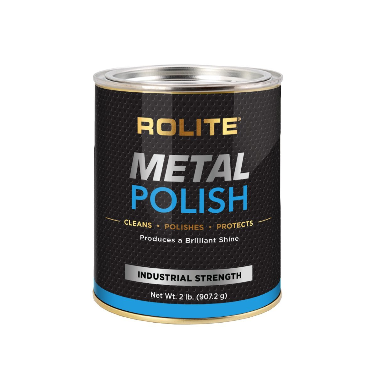 Rolite Metal Polish Paste (2lb) for Aluminum, Brass, Bronze, Chrome, Copper, Gold, Nickel and Stainless Steel