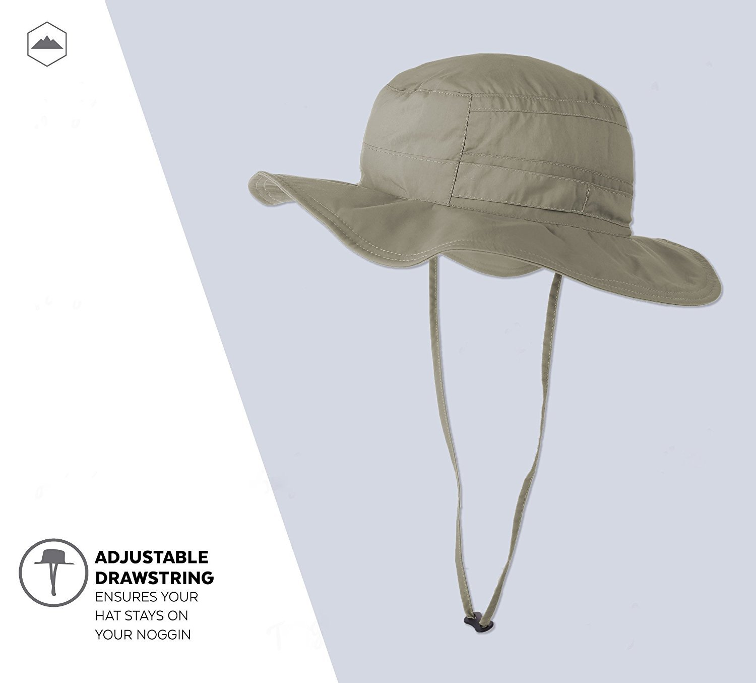 17bdf625eed44 Boonie Safari Sun Hat for Men   Women - UPF 50 Sun Protection - Wide Brim  Summer Hat. Waterproof for Fishing