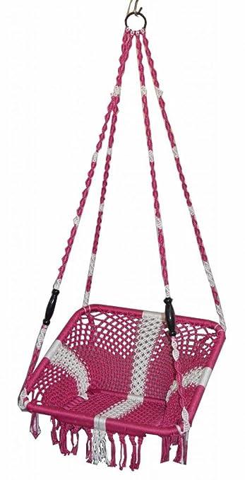 Kaushalendra Garden Zula Hammock Swing Chair For Adults With Nylon Hanging Rope Swing