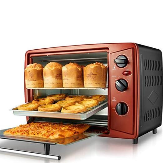 Pojrhfy Cocina Mini Horno - Mini Horno eléctrico Horno para ...