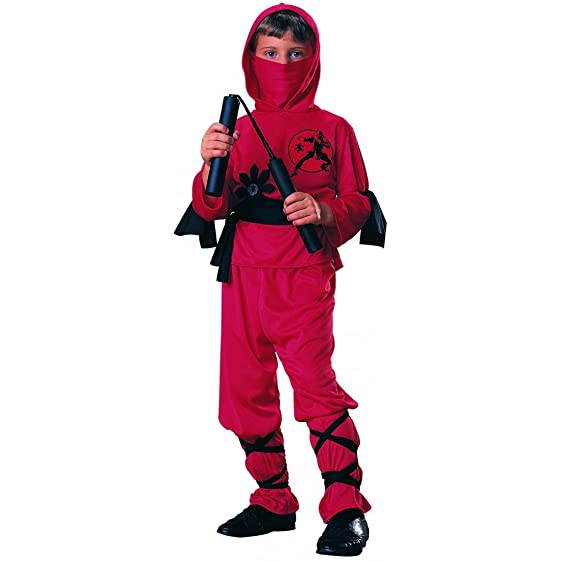 Rubieu0027s Boys u0027Ninjau0027 Halloween Costume ...  sc 1 st  Amazon.com & Amazon.com: Rubieu0027s Boys u0027Ninjau0027 Halloween Costume Red/Black S ...