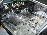 Car Vehicle Insulation 100sqft 4' x 25' Truck Van SUV Automotive Reflective Foam Core Insulation Kit (not cheap bubble) thermal Sound Deadener Class A1 Fire Rating (Made in USA) retrofit & restoration