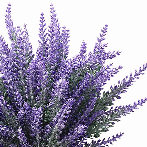 CATTREE-Artificial-Flowers-Flocked-Plastic-Lavender-Bundle-Fake-Plants-Wedding-Bridle-Bouquet-Indoor-Outdoor-Home-Kitchen-Office-Table-Centerpieces-Arrangements-Christmas-Decor-8-Pcs