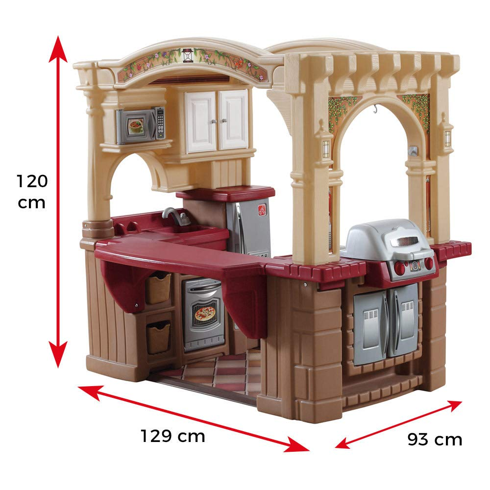 Buy Step2 Grand Walk In Kitchen And Grill Online At Low Prices In India Amazon In
