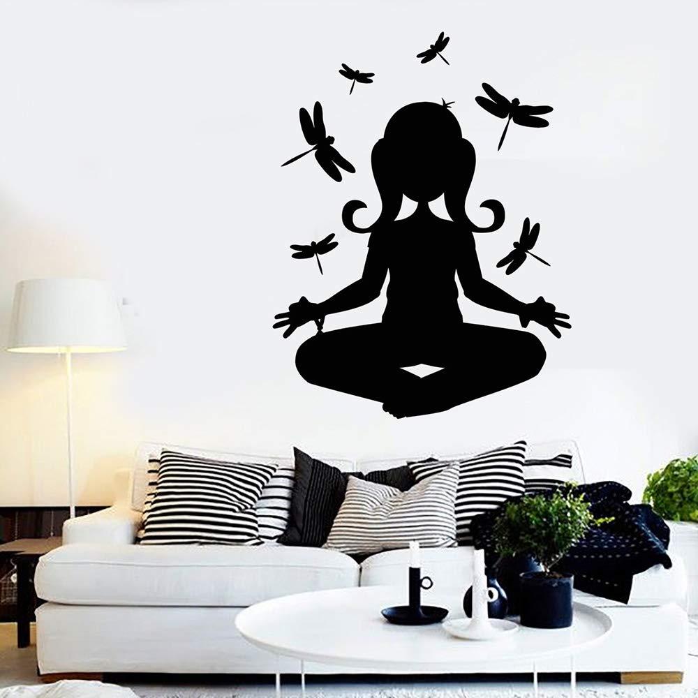Meditation Wall Vinyl Decal for Bedroom Yoga Buddha ...