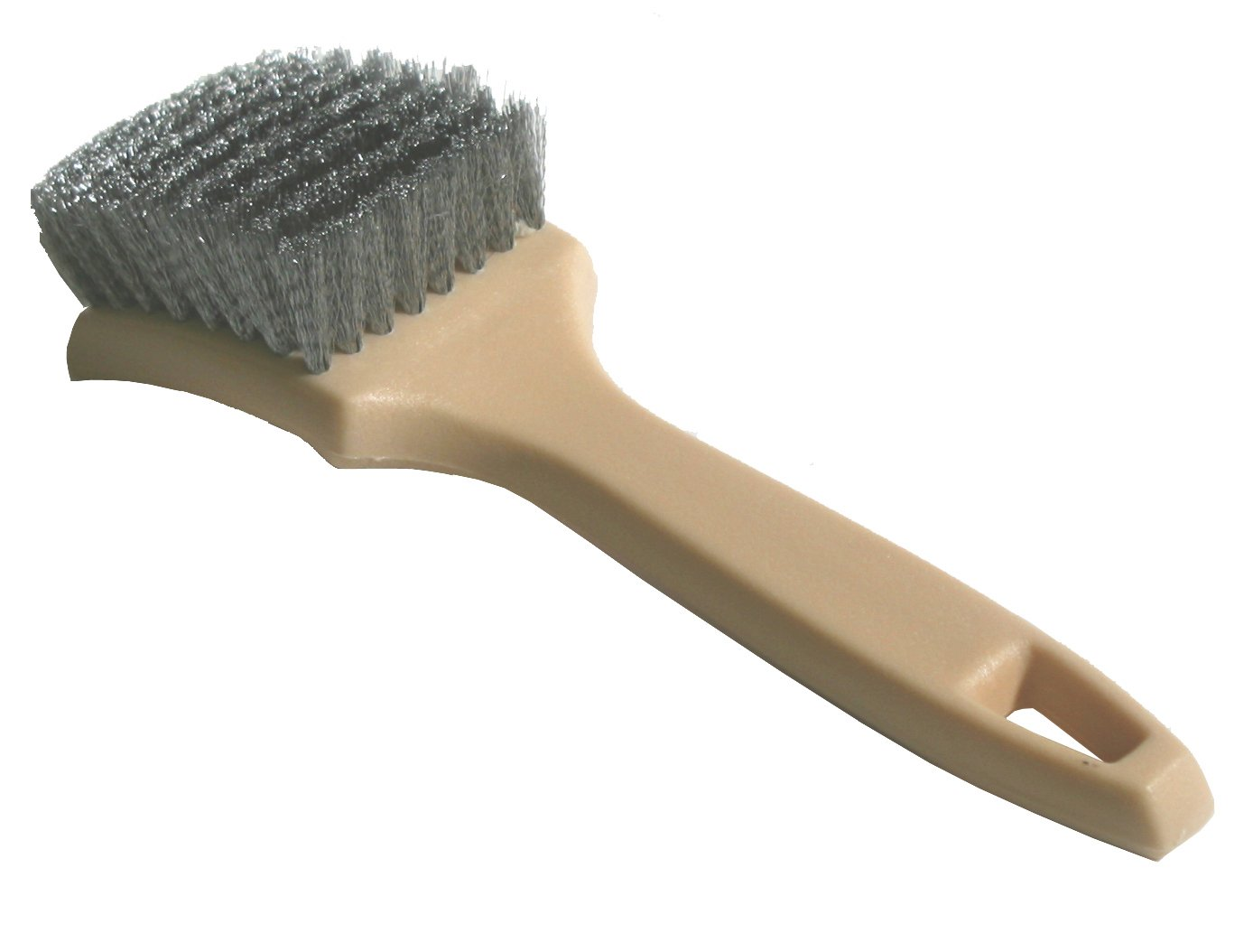 Nanoskin (85-638) 8.5' Whitewall/Sidewall Tire Brush, Steel Wire
