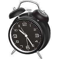 LATEC Reloj Despertador de Doble Campana con luz