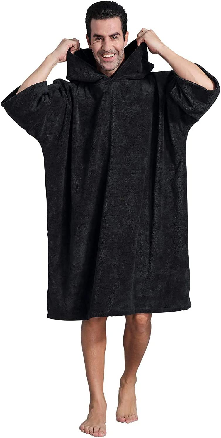 Winthome Changing Bath Robe Surf Poncho Towel with hooded