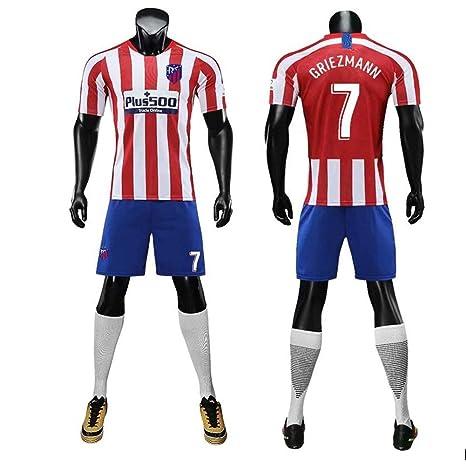 Atlético Madrid NO.7 Gritzman Uniforme de fútbol Trajes de ...