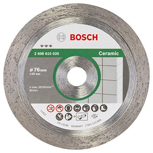 Bosch 2608615020Best für Keramik Diamant-Trennscheibe 76mm 1,9mm 10mm