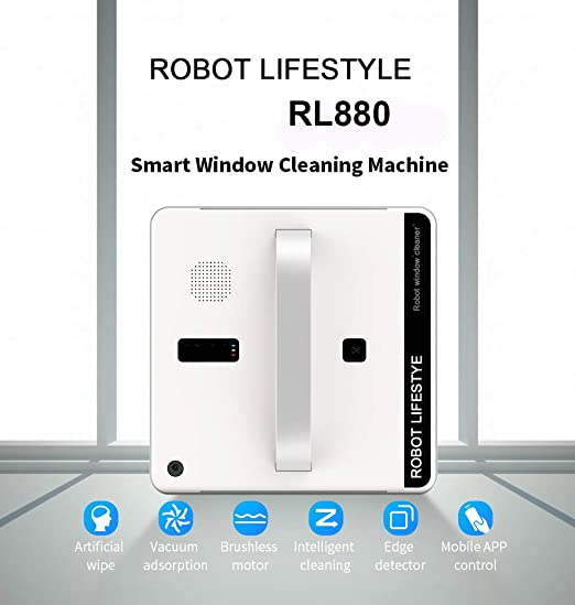WNTHBJ Limpieza de Cristales automática Robot, Inteligente ...