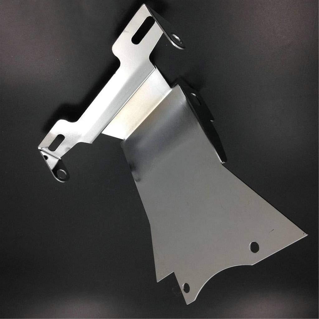 Wotefusi Chrome Fender Eliminator Queue Bien rang/é Plaque Support
