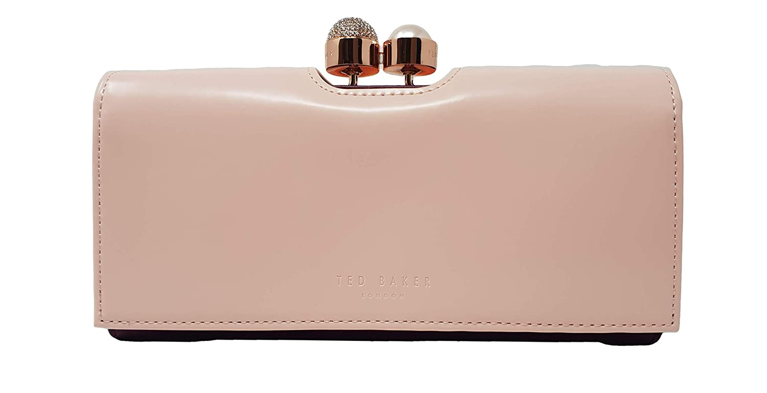 1678fbd3f Ted Baker Crystal Pearl Bobble Matinee Purse Wallet in Baby Pink   Amazon.co.uk  Luggage