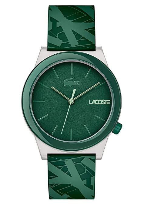 Lacoste Men's 'Motion' Quartz Plastic and Rubber Casual Watch