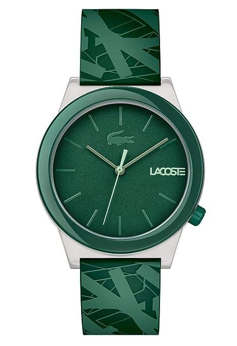 Lacoste Men's 'Motion' Quartz Plastic and Rubber Casual Watch