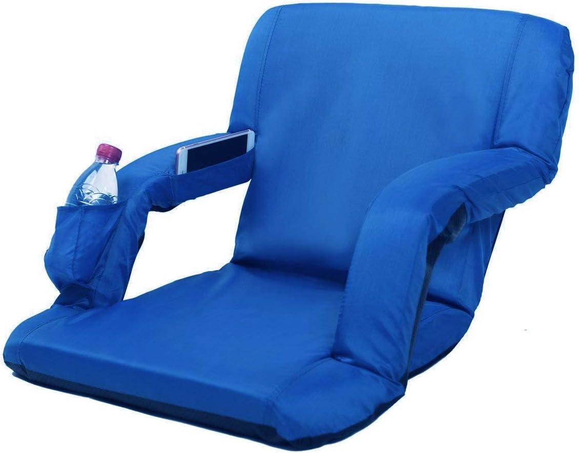 AceLife Stadium Seat Portable Adjustable Reclining Bleacher Chair