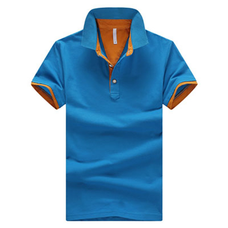 647494f9b38 Richard Nguyen Fashion Clothing New Men Polo Shirt Men Business Casual  Solid Male Polo Shirt Short Sleeve at Amazon Men s Clothing store