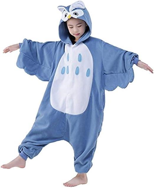 Disfraz de búho de Kigurumi para niños de Halloween, regalo de ...