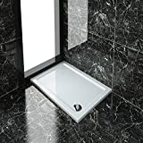 Rectangular 1000x700x40mm Stone Tray for Shower Enclosure Cubicle+Free Waste Trap NEXT DAY DELIVERY by sunny showers,ultra