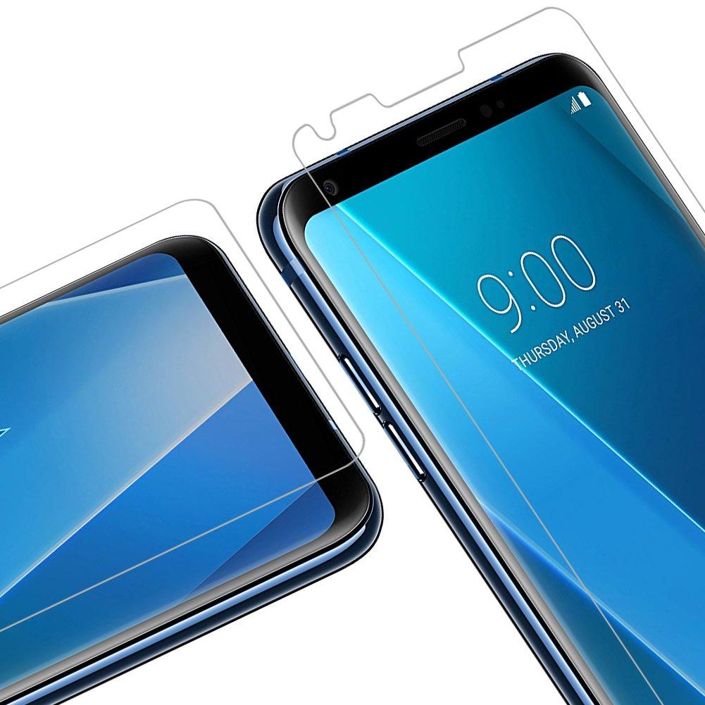 Vkaiy LG G6 Pellicola Protettiva in Vetro Temperato - [Durezza 9H] [Alta trasparente] [Nessuna bolla] [Anti-impronte] [ Antigraffi], Facile da Installare, [2 Pezzi]