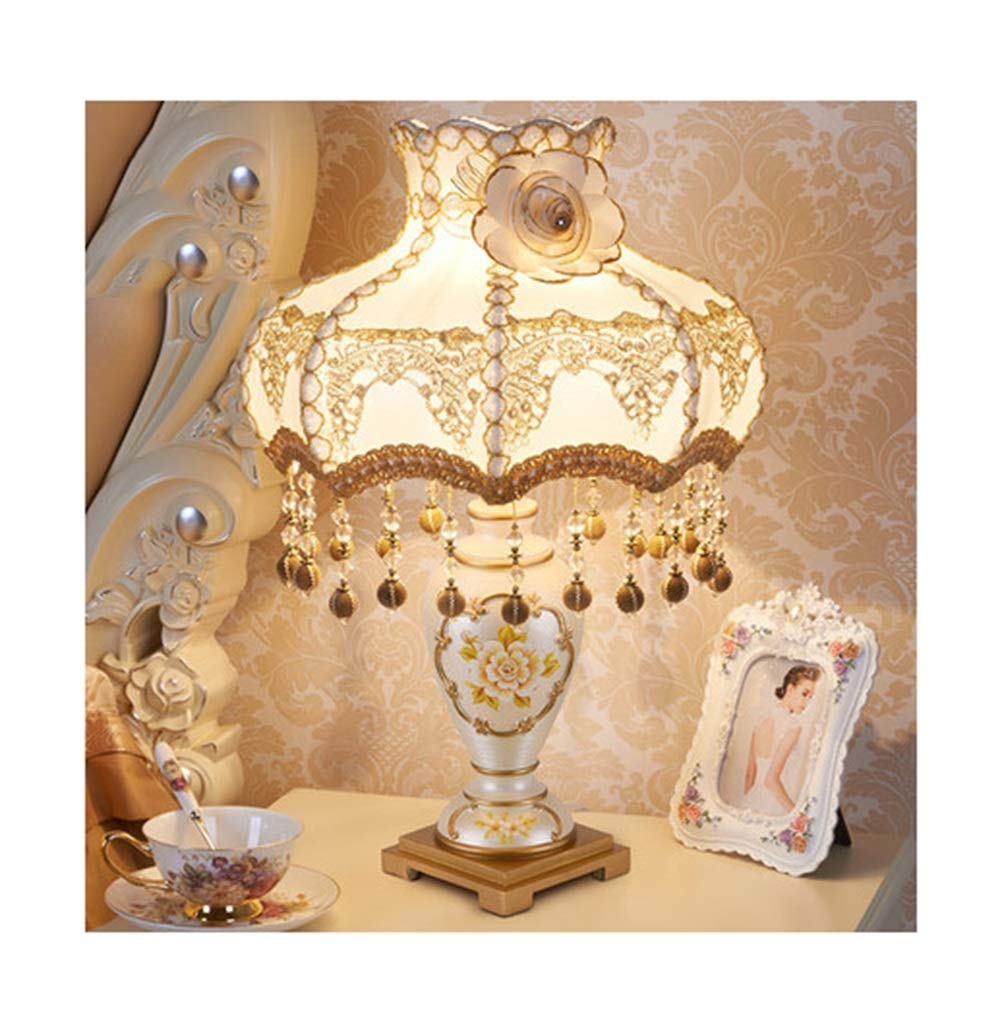 WPQW テーブルランプ高級クリエイティブシンプルな結婚式の部屋の装飾デスクランプ暖かい王女の生活人格読書ランプ -347 電気スタンド (色 : O, 設計 : Remote control) B07QRRCXWH Q Dimming Dimming|Q