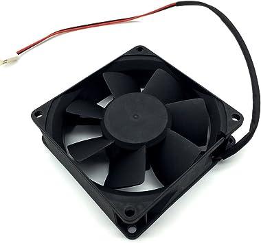 8CM 8025 12V 1.8W KD1208PTS1 2 wire cooling fan