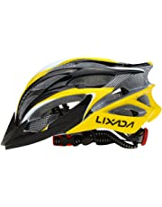 Lixada Cycle Helmet, Mountain Bicycle Helmet 25 Vents Adjustable Comfortable Safety Helmet for Outdoor Sport Riding Bike