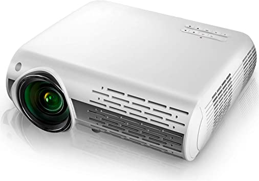 AWLLY Proyector Led 5000 Lúmenes 1080P HD con 4D Inteligente ± 50 ...