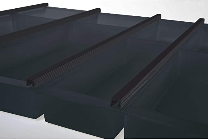 Kunststoff graphit NINKA CUISIO Besteckeinsatz für TANDEMBOX KB 1000