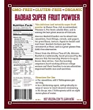 Atacora Fair Trade Certified Organic Baobab Super Fruit Powder 30 Day Supply In Travel-Ready Resealable BPA Free Bag, 11.5 Oz.