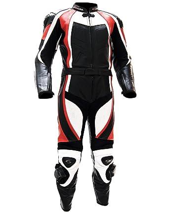 Traje de Moto Racing Tschul® piel Suite de dos piezas 770 ...
