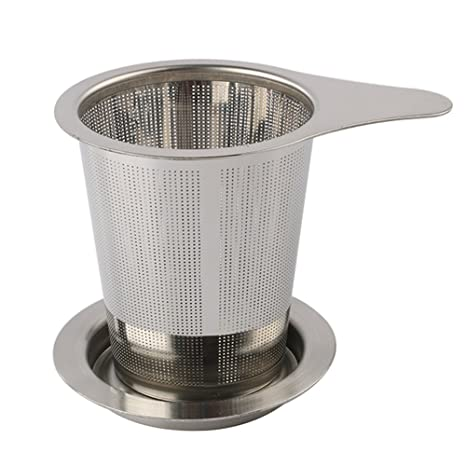 Nouvelife - Filtro de té/infusor para taza, colador de té ...
