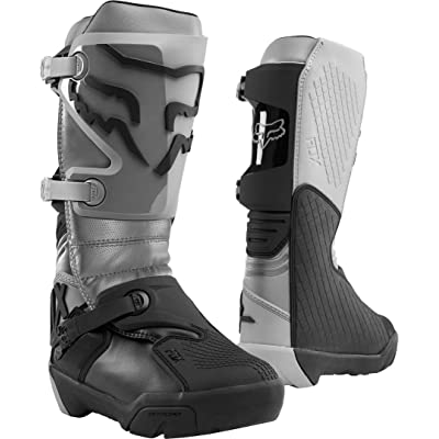 Fox Racing Comp X Boots - (8) (Grey): Fox racing: Automotive