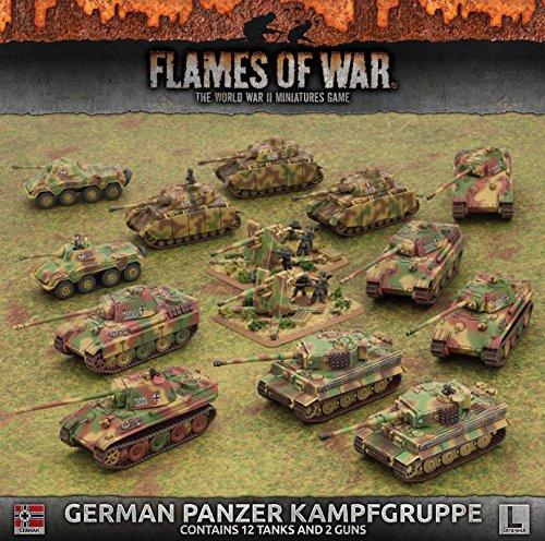 German Panzer War (Flames of War: Late War: German: Panzer Kampfgruppe)