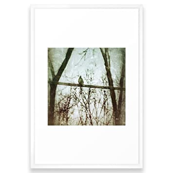 Amazon.com: Society6 Lonesome Dove Framed Print Vector White LARGE ...