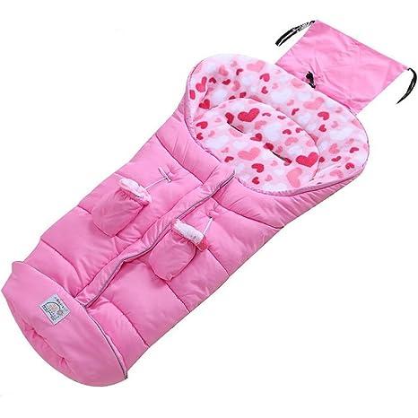 Forro polar forrado de gran tamaño forro universal saco de dormir algodón acolchado cochecito de bebé