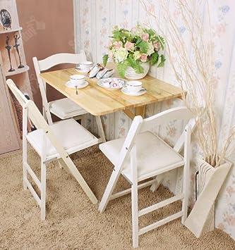 Wandklapptisch holz  Wandklapptisch,Klapptisch,Holztisch, Esstisch aus Holz, 75x60cm ...