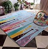 Judy Dre am Hayao Miyazaki Totoro Doormat Baby Crawling Mat Carpet Children Carpet Living Room Rugs 51.18″x70.87″ For Sale