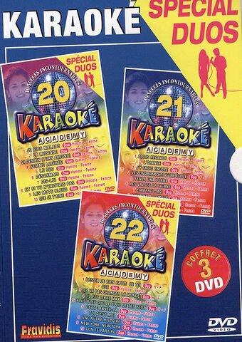 Karaoké Academy - Coffret n° 7 : spécial duos (Vol. 20 à 22) ()